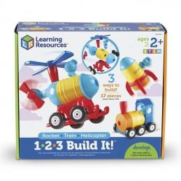 STEM set 1-2-3 build it...