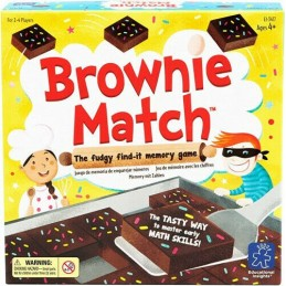 Brownie Match juego de memoria
