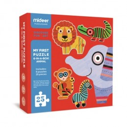 ANIMAL PUZZLE -SIX IN ONE