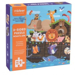 2-SIDED PUZZLE NOAH'S ARK