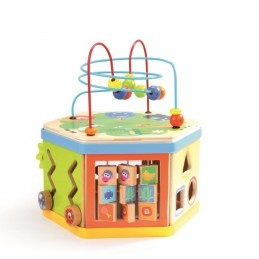7 IN 1 ACTIVITY CUBE