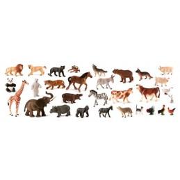 ANIMALES GRANJA-SALVAJES 30UDS